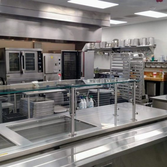 The new kitchen is shown above. Photo submitted